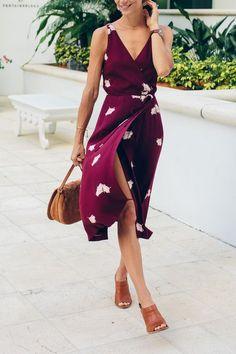 wrap dress …