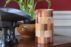 Cutting board vase