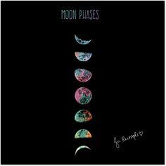 Adesivo Moon Phases de @jurumple | Colab55