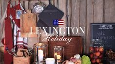 Create a cozy atmosphere in every corner of your home with our Holiday and Christmas home collection. And get into that perfect holiday spirit. Shop now: www.lexingtoncompany.com
