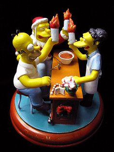 Flaming Moe's, The Simpsons Christmas Ornament