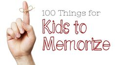 100 Things for Kids to Memorize