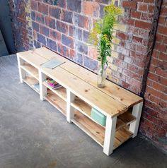 bauholz sideboard lowboard tv m bel von linnards. Black Bedroom Furniture Sets. Home Design Ideas