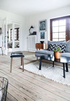 Appunti di casa: Home tour: scandinavian energy