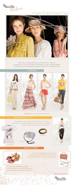 Newsletter | Maria Filó | Primavera-Verão 2012