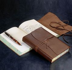 Diario Mio Journal: Record your thoughts in a handmade Italian leather journal.