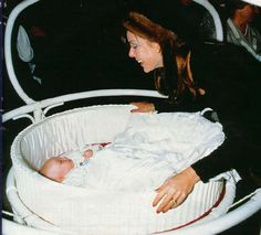 with Baby Pierre Casiraghi