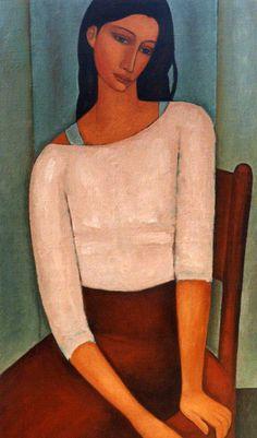 Roman Zakrzewski (1955), Poland. 1995/02/130x80cm. Oil on canvas.