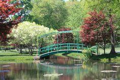 Monet bridge at Gibbs Garden