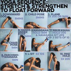yoga sequence from @ericatenggarayoga on instagram