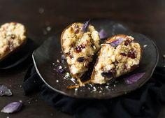 Zdrowsza, sezonowa wersja deseru, choć nie tylko. Pieczone gruszki będą równie dobre na śniadanie!