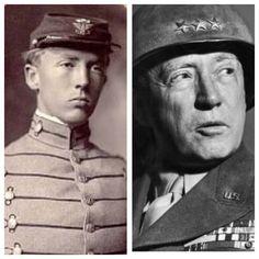 General George S. Patton, Jr., nicknamed Old Blood & Guts, was born on Nov. 11, 1885.