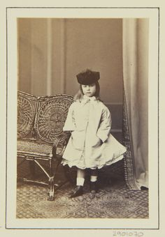 Princess Charlotte of Prussia, 1864 [in Portraits of Royal Children Vol.8 1864-1865] | Royal Collection Trust
