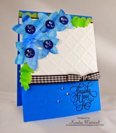 Spectrum Aqua Tutorial ~ Watercolored Die Cuts - stampTV