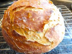 A Quick No Knead Crusty Rye Bread - LindySez | Recipes, Tips, Blog