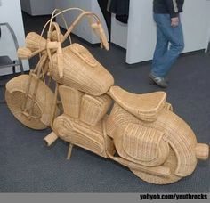 most beautiful funny motor bike