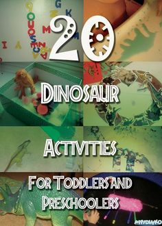 My Life with Pipidinko: 20 Dinosaur Activities for Toddlers and Preschoolers