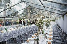 E&J Wedding Clear Marquee, Wedding Notebook, Marquee Wedding