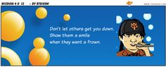 ToonDoo is a free website where students can go to create their own comic strips.