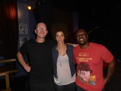 "Chastity Brown, Simon Hill from Act of Love and deVon Gray after Chastity's ""I Left Home"" tour gig in Brighton, UK on September 23, 2013. #ilefthometour #UK #chastitybrown #actoflove #simonhill"