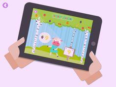 Monki Shake it App - Sprachlernspiel für Kinder mit Tilt-Steuerung (iPad, iPhone)