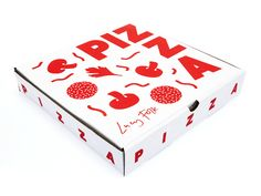 Lucy Folk Pizza #packaging - so cool