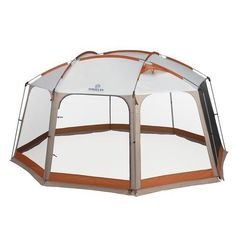 OutdoorsTM 14 x 12 Deluxe Screen House Durable Steel Poles Polyester Construction Waterproof Seal Fully Bound Seams Outdoor and Summer Activities Camping Trips and Travels Hiking Equipment ** More info could be found at the image url. Best Tents For Camping, Tent Camping, Camping Gear, Outdoor Camping, Camping Friends, Camping Trailers, Camping Checklist, Outdoor Survival, Family Camping