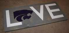 K-State DIY Sign Project - this would make a perfect present!