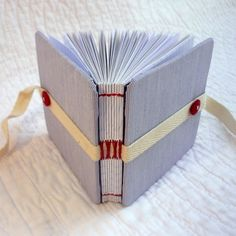 """Pale Stripe - Shirty Beer Mat"""" Recycled hand bound notebook or journal"""