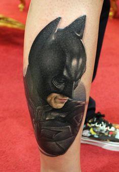 Tatouage Batman #01
