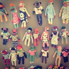 Sock puppets in the #miniboden room at #bodenpressday.