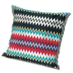 Discover the Missoni Home Marki Cushion - 100 - 60cm x 60cm at Amara