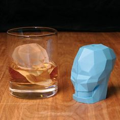 Presents of Mind - The Skull Ice Cube is the best unique gift for any whiskey, bourbon or scotch lover.