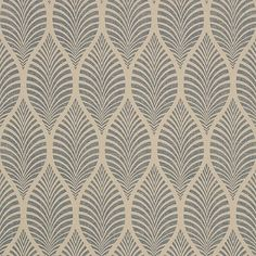 Fresh Art Nouveau Textured Wallpaper - Art Nouveau Textured Wallpaper Lovely Deilen Slate On Linen at Collection Zola From Anna French Linen Wallpaper, Textured Wallpaper, Pattern Wallpaper, Anna French Wallpaper, Art Deco Home, Home And Deco, Art Deco Design, Wall Design, Pattern Art