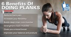 6 Benefits Of Doing Planks
