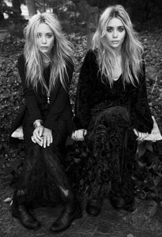 8) Dressed up look a likes...Olsen Twins. I'm obsessed with twins...I was one...
