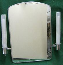 ON SALE Vintage Etched Glass Medicine Cabinet Metal Mid Century ...