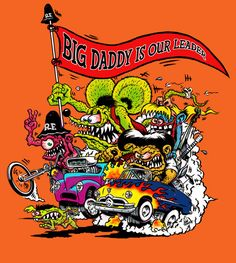 Love the artwork of Ed Roth. This is my place for Rat Fink, Roth Art and others that are Roth like. Any Rat Rod style art as well Rat Fink, Cartoon Rat, Cartoon Pics, Mark Ryden, Ed Roth Art, Retro, Lowbrow Art, Car Drawings, Big Daddy