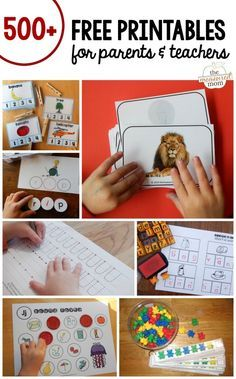 Free handwriting worksheets for preschool: Letters of All Sizes! - The Measured Mom