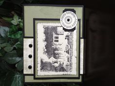 Birthday card made with Happiness Is A Journey Stampin Up stamp set
