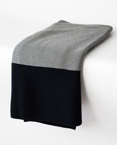 This cozy grey & navy throw is perfect for adding some texture and warmth to your bed this season. Throw is x Cotton Imported by Merben Navy Bedding, Dorm Bedding, Linen Bedding, Bed Linens, Best Bedding Sets, Comforter Sets, Beige Bed Linen, Queen Sheets