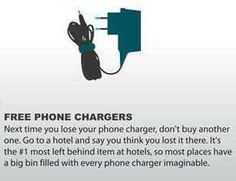 Free Phone Chargers