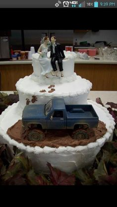 Unless her taste changes this could be her wedding cake one day... crazy girl!