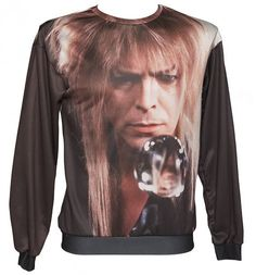 EXCLUSIVE Crystal Ball #Bowie #Labyrinth Sweater from Mr Gugu & Miss Go xoxo
