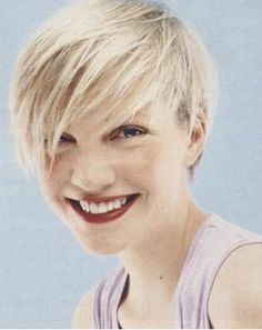 pixie with long bangs - Google Search