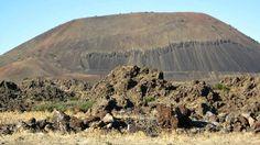 Kula volcanic field - a cinder cone