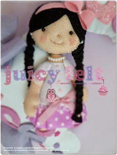 Juicy felt: Pronto anche il fiocco nascita di Alice