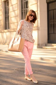 Baby pink is the colour that is coming to sweeten the spring.