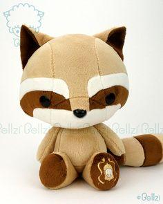 potte Plush Doll Tanuki
