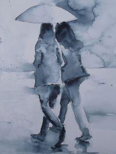 Rain sketch 2